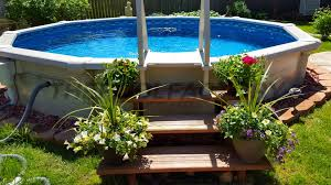 be sure to check out many more pool installs for great landscaping around your above ground pool ideas in our swimming pool gallery