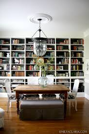 dining room and office. Dining Room Bookshelves And Office I