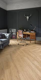 home office flooring ideas. sienna oak camaro luxury vinyl tile flooring in full plank chevron design featured home office ideas a