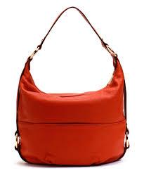 love this product burnt orange fulton large leather shoulder bag