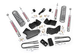 4in Suspension Lift Kit for 83-97 Ford 4wd Ranger [430.20] | Rough ...