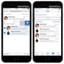 Hoe een, whatsApp gesprek
