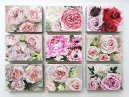 new mini flower paintings katie jobling