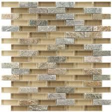 mosaic stone tile backsplash. Delighful Stone Merola Tile Tessera Subway Suffolk 1034 In X 113 Throughout Mosaic Stone Backsplash R