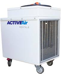 Industrial Water Heater Electric 21kw Electric Blower Heater Active Air