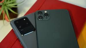iPhone 11 Pro versus Galaxy S20 Ultra ...