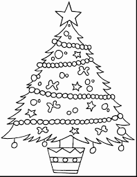 43 Amazing Christmas Tree Coloring Sheet Boston Cross
