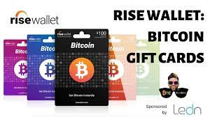 The bitcoin gift card is the easy way to gift and buy bitcoin! Rise Wallet Buy Bitcoin Easily Via Gift Cards Youtube