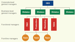 types of managers in principles of