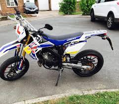 rieju mrt 50cc pro 1122 miles supermoto road legal dirt bike