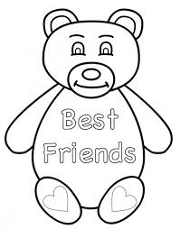 Small Picture Coloring Pages Friends Helping Friends Coloring Page Free