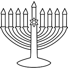Small Picture Menorah Coloring Page Coloring Coloring Pages