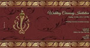 free wedding india invitation card & online invitations Free Online Indian Wedding Invitation Cards Templates your wish is important for us please join our wedding ceremony shubh vivah free online indian wedding invitation templates