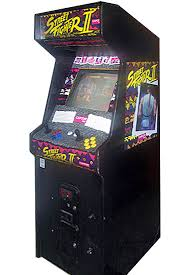 street fighter ii arcade game rental video amusement san