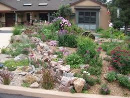 Small Picture Rock Garden Designs For Front Yards Images About Front Yard