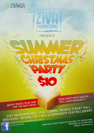ZUMBA SUMMER CHRISTMAS SPECIAL