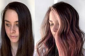 summer hair ideas rainbow hair pastel
