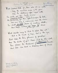 siegfried sassoon and wilfred owen the best poems of the great sassoon s handwritten edits