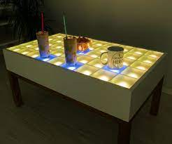 diy interactive led coffee table led