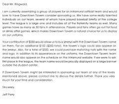 Sponsorship Letter Samples Write Best Sponsorship Letters Inspiration Format For Sponsorship Letter