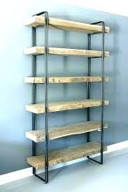 steel bookshelves reclaimed wood book shelves metal shelf and bookshelf in bookcase plan west elm whitewashed