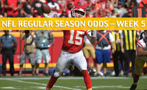 Image result for week 5 nfl undefeated kansas city chiefs rams undefeated