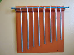 If you have a couple of hours and a couple of dollars, you can make a set  of musical chimes that your family will love!