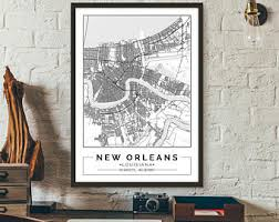 cool design ideas new orleans wall art small home decoration map etsy louisiana city poster printable on map of new orleans wall art with well suited new orleans wall art modern decoration design