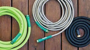 diffe types of garden hoses
