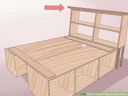 image titled build a wooden bed frame step 27
