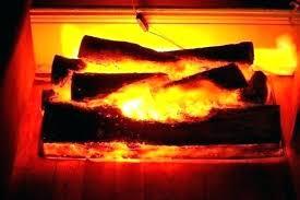 faux fire fake rock fireplace diy
