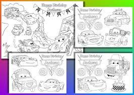 Happy Birthday Coloring Sheet Pdf Printable Coloring Page For Kids