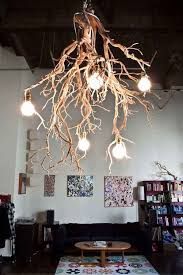 architecture diy tree branch chandelier ideas chandeliers with regard to light fixture remodel 12 tall corner