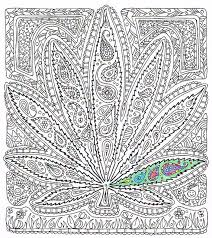 Small Picture Adult Coloring Page Got Leaf Printable pot leaf coloring