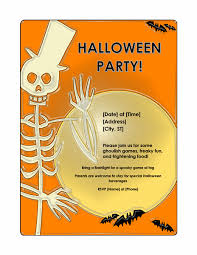 halloween template flyer halloween party flyer office templates