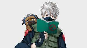 2560x1440 Kakashi Hatake and Pakkun ...