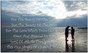 Quotes About The Beauty Of The Earth Best of Uplifting Hymns Lyrics