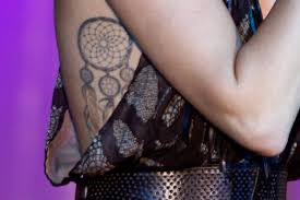 Dream Catcher Tattoo Miley Cyrus Miley Cyrus Tattoos Meanings DreamCatcher Tattoo Meaning and 27