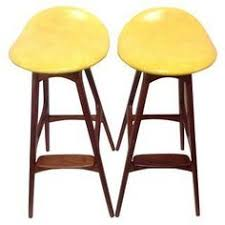 danish mid century bar stools erik buch design