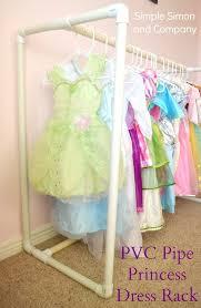 diy pvc pipe princess dress rack a how to