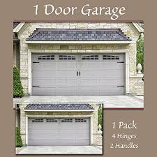 amazon household essentials 240 hinge it magnetic decorative garage door accents black home kitchen