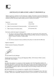 fillable certificate of insurance with company public liability source employer s liability insurance