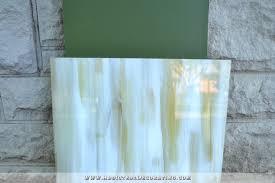 testing the idea of diying a back painted glass backsplash 12