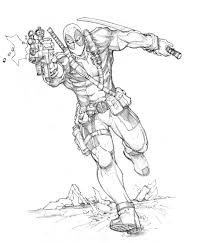 Deadpool Coloring Pages Printable Get Coloring Pages