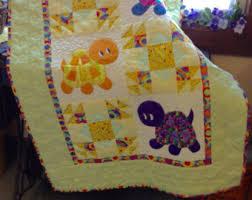 Kitten appliqued patchwork crib quilt   Purple, Quilt and Machine ... & Kitten appliqued patchwork crib quilt Adamdwight.com