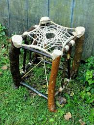 Dream Catchers Furniture Gorgeous Dream Catcher Stool No32 Recycled Tree Limb Furniture Rustic