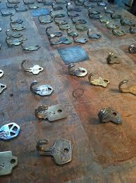 image vintage kitchen craft ideas. peter coleu0027s vintage key hooks and necklaces image kitchen craft ideas