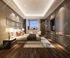luxury modern bedroom. Unique Luxury 3d Rendering Luxury Modern Bedroom Suite In Hotel Banque Du0027images   105319687 Inside Luxury Modern Bedroom L