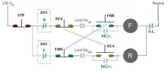 electric motor reversing switch wiring diagram wiring diagram 3 phase motor reversing delay and limit switches