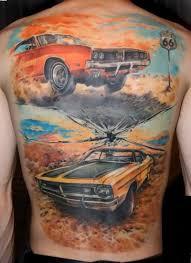 Full Back Car Tattoos On Back Tattoo татуировки идеи для